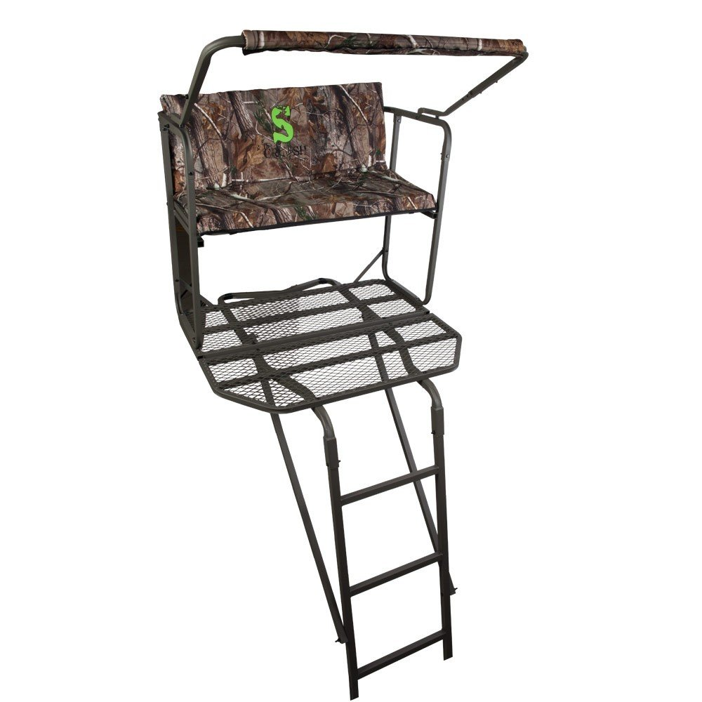 mossy summit to amazon sports treestand com blind a treestands build outdoors how dp sd blinds climbing oak tree viper