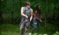 Daryl with his survival crossbow
