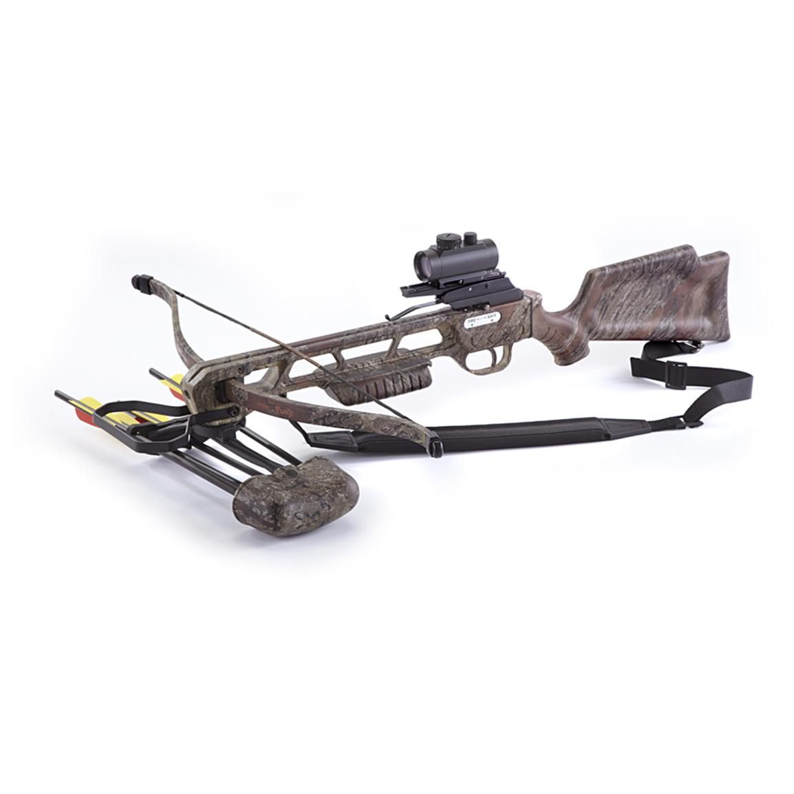 The arrow precision inferno fury crossbow is one of cheapest options right now