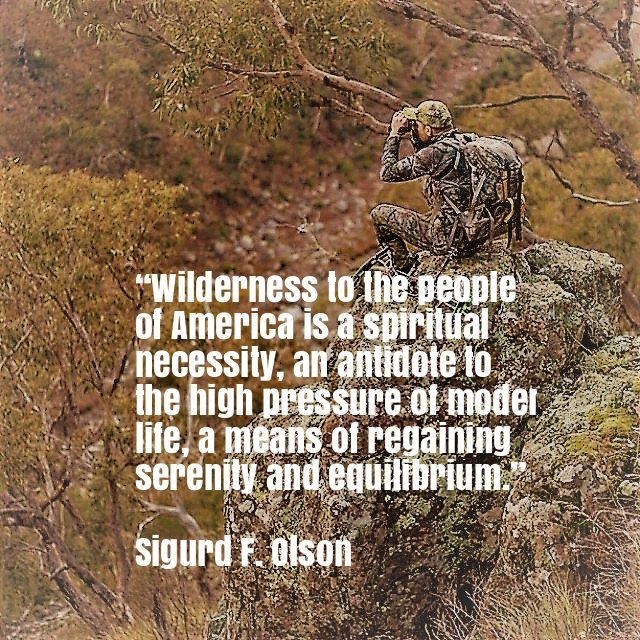 Hunting binoculars pic with quotes
