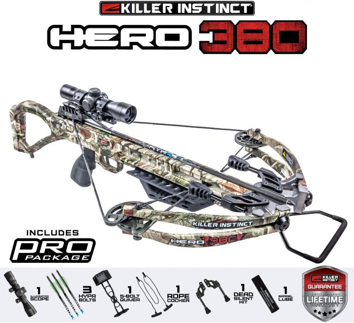 Killer Instinct Hero 380 crossbow review