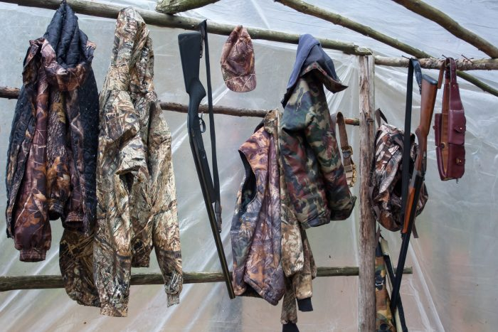Lots of hunting jackets to choose from